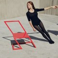 Contemporary Red Chair by XYZ Architecture