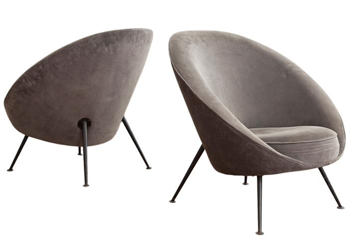 Mid Century Modern Italian Chair Ico Parisi
