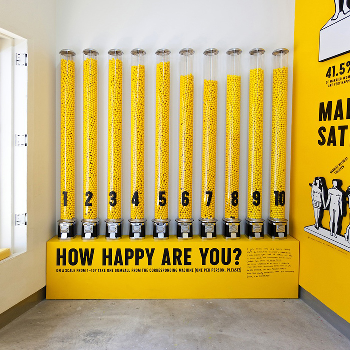 """happyshow-1  """"How happy are you?"""" – The Sagmeister question happyshow 1"""
