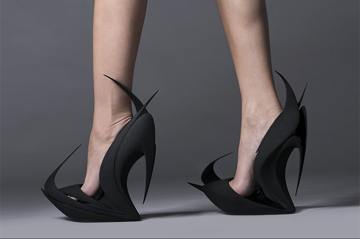 3d-printed-shoe-zara  3D Printed Shoes * by Zaha Hadid and more famous designers 3d printed shoe zara