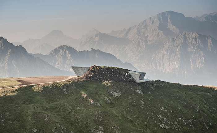The Messner Mountain Museum by* Zaha Hadid  The Messner Mountain Museum by* Zaha Hadid 01 ZHA MMM copy