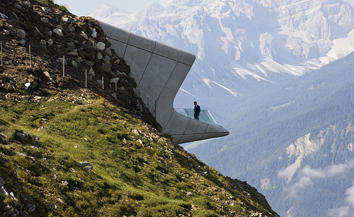 The Messner Mountain Museum by* Zaha Hadid  The Messner Mountain Museum by* Zaha Hadid 04 ZHA MMM copy