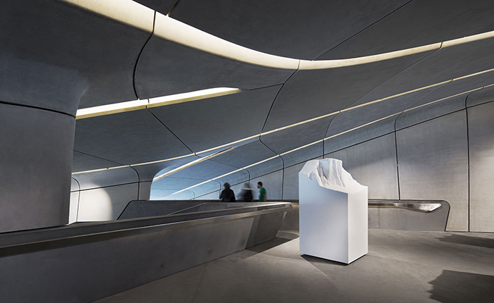 The Messner Mountain Museum by* Zaha Hadid  The Messner Mountain Museum by* Zaha Hadid 05 ZHA MMM copy