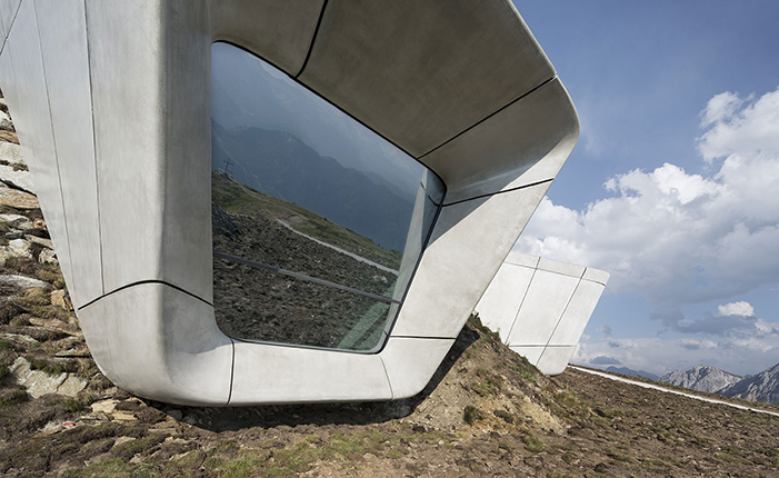The Messner Mountain Museum by* Zaha Hadid  The Messner Mountain Museum by* Zaha Hadid 07 ZHA MMM copy