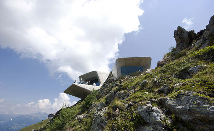 The Messner Mountain Museum by* Zaha Hadid  The Messner Mountain Museum by* Zaha Hadid 09 ZHA MMM copy
