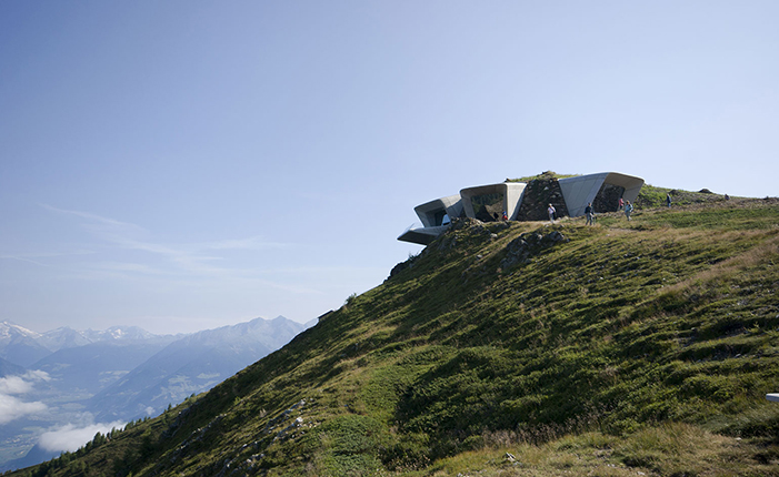 The Messner Mountain Museum by* Zaha Hadid  The Messner Mountain Museum by* Zaha Hadid 10 ZHA MMM copy