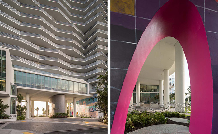 Meet the new Miami tower and it's own* Curated art collection  Meet the new Miami tower and it's own* Curated art collection gicon bay pair3