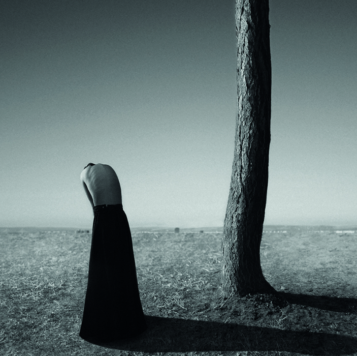 New Black and White Surrealist Self-Portraits *Noell Oszvald