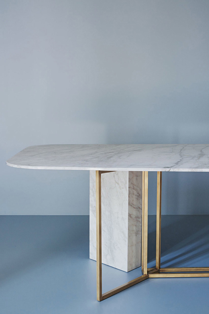 Contemporary Dining Table By Meridiani Editions Design