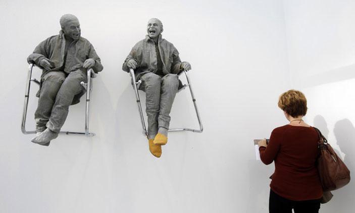Contemporary-art-by-Juan-Muñoz  Contemporary art * by Juan Muñoz Contemporary art by Juan Mu  oz7