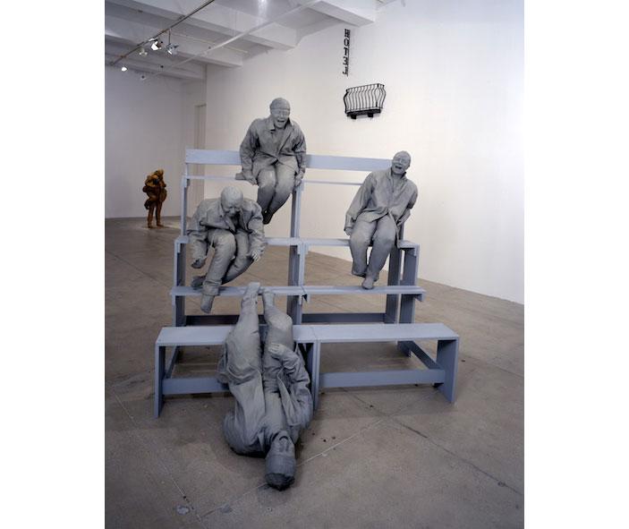 Contemporary-art-by-Juan-Muñoz  Contemporary art * by Juan Muñoz Contemporary art by Juan Mu  oz8