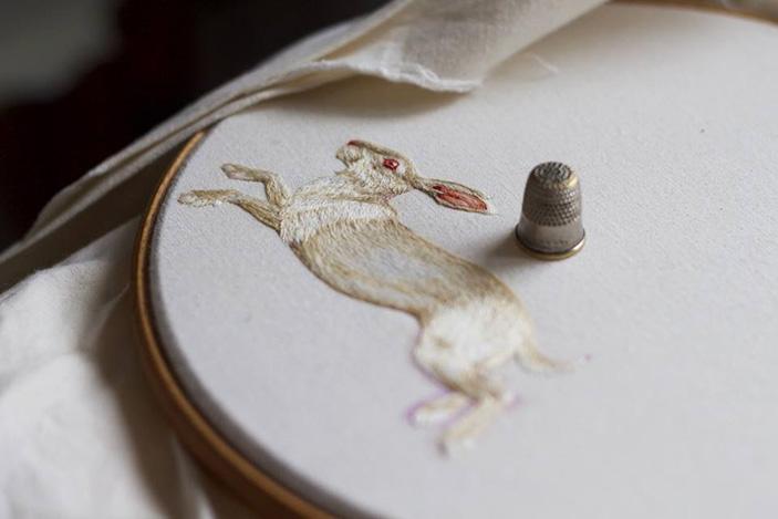 Tiny Embroidered Animals