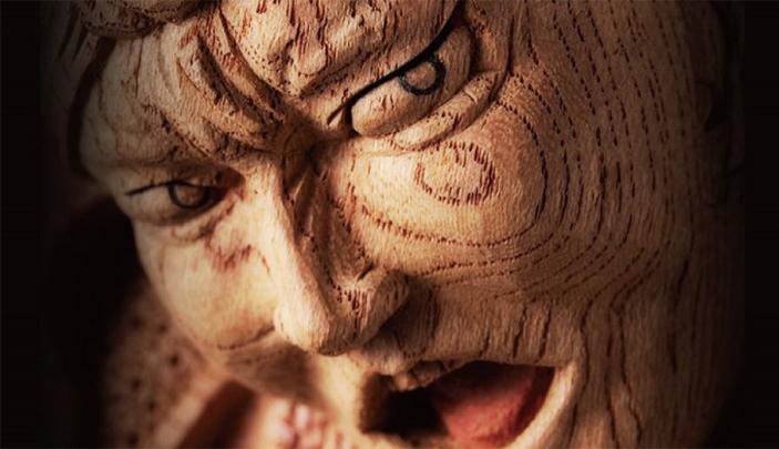 Sculptural Wooden Japanese Heroes * Yusuke Yamamoto Yusuke Yamamoto Sculptural Wooden Japanese Heroes * Yusuke Yamamoto sculptural woodenjapanese heroes 3