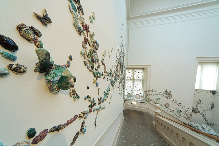 Ceramic Beetles * by Anna Collette Hunt