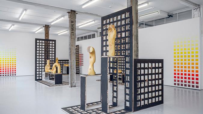 KÖNIG GALERIE * Contemporary Exhibitions claudia comte KÖNIG GALERIE * Claudia Comte 5 4