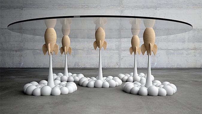Rocket-Coffee-Table-Stelios-Mousarris03 rocket coffee table Rocket Coffee Table * Stelios Mousarris Rocket Coffee Table Stelios Mousarris03