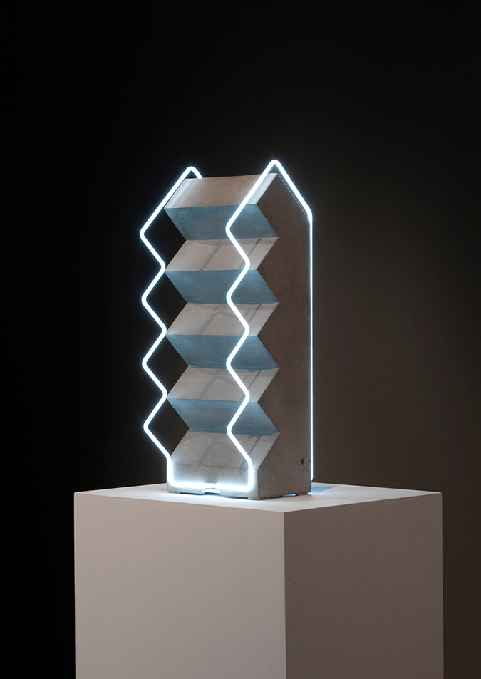 Collection of Sculptural Lighting plays with perception
