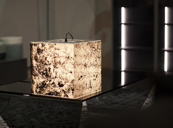 Light Cube Collection with Nature Textures by Uniqcube