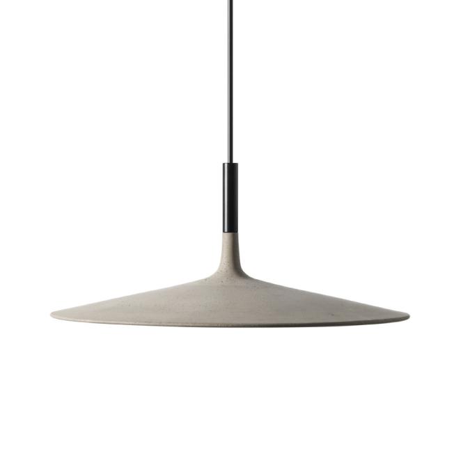 Foscarini Super Thin Lamp * Foscarini Foscarini Aplomb Large concrete lamp 1 02