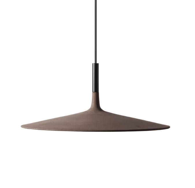 Foscarini Super Thin Lamp * Foscarini Foscarini Aplomb Large concrete lamp 1 03