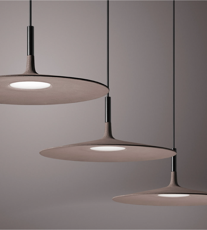 Foscarini Super Thin Lamp * Foscarini Foscarini Aplomb Large concrete lamp 1 04