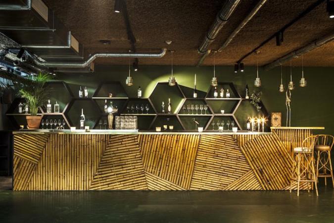 mid century hotel in amsterdam Mid Century Hotel in Amsterdam hotel v fizeaustraat palm room 3 600x401