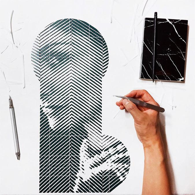 Yoo Hyun yoo hyun Photorealistic Portraits in Cut-Paper * Yoo Hyun yoo hyun hand cut paper designboom 03