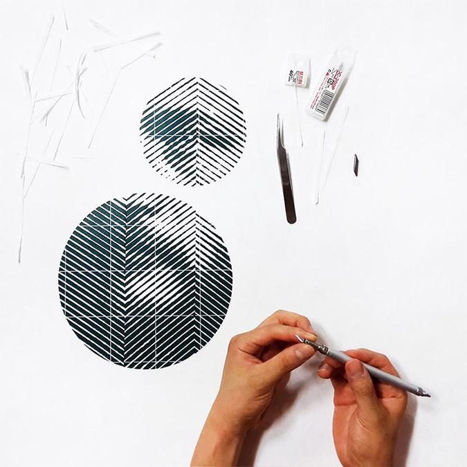 Yoo Hyun yoo hyun Photorealistic Portraits in Cut-Paper * Yoo Hyun yoo hyun hand cut paper designboom 04