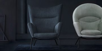 Revamped Armchairs by Carl Hansen & Søn