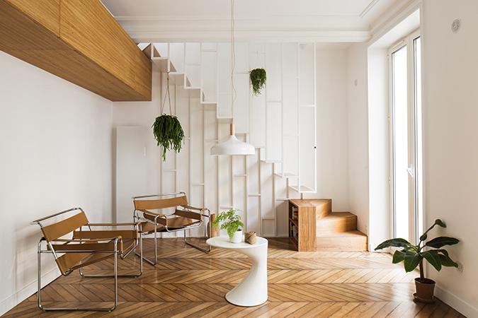 Paris Apartment by Les Ateliers Tristan & Sagitta paris apartment Paris Apartment by Les Ateliers Tristan & Sagitta paris apartment by les ateliers tristan sagitta 3