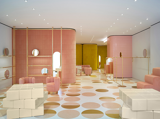 Interior Design REDvalentino By India Mahdavi Redvalentino Red