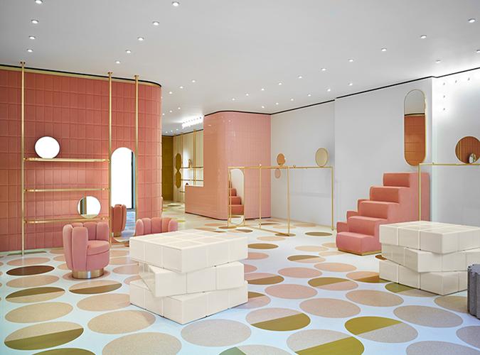 Interior Design REDvalentino by India Mahdavi