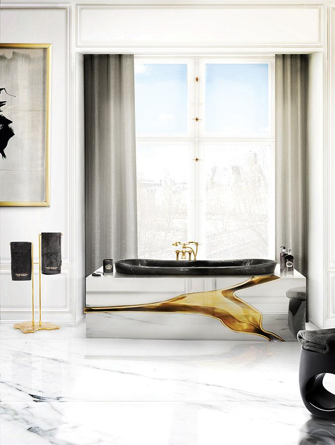 25 Interior Design Ideas for Valentine's Day 2017 valentine's day 2017 25 Interior Design Ideas for Valentine's Day 2017 18 lapiaz bathtub eden towel rack erosion stool maison valentina HR