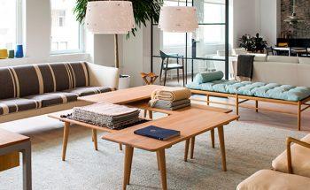 New Modernist Scandinavian Showroom by Carl Hansen & Son