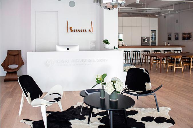 New Modernist Scandinavian Showroom by Carl Hansen & Son modernist scandinavian New Modernist Scandinavian Showroom by Carl Hansen & Son Carl Hansen Son 5 1
