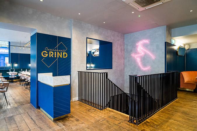 Mid Century Design Modern Clerkenwell Grind Restaurant in London mid century modern Mid Century Modern Clerkenwell Grind Restaurant in London grind1