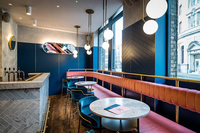 Mid Century Modern Clerkenwell Grind Restaurant in London mid century modern Mid Century Modern Clerkenwell Grind Restaurant in London grind3