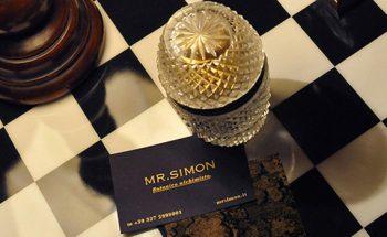 "Mid Century Modern Design at ""Mr.Simon"" Cocktail Bar"