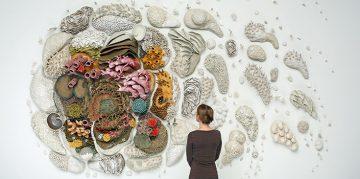 Ceramic Sculptures of Ocean Ecosystems by Courtney Mattison