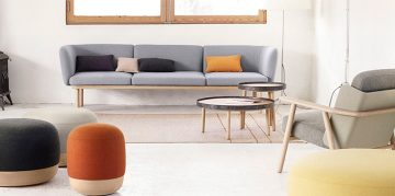 Egon Furniture Collection for Lounge Spaces by Iratzoki Lizaso