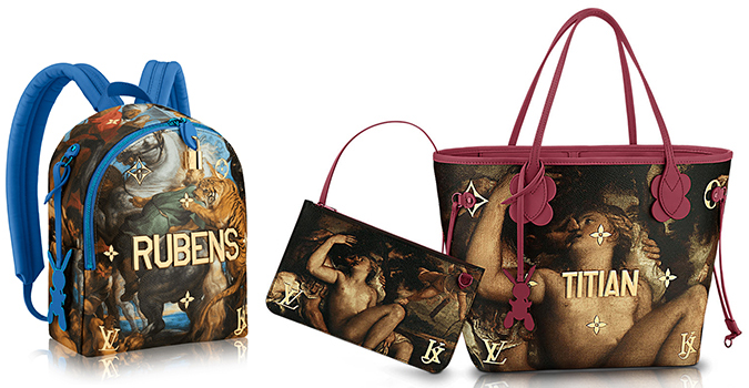 New Collection Of Bags And Accessories For Louis Lv Vuitton Jeff Koons