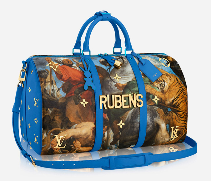 New Collection of Bags and Accessories for Louis LV Vuitton of Jeff Koons louis vuitton New Collection of Bags and Accessories for Louis Vuitton of Jeff Koons louis vuitton masters collection jeff koons 5