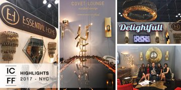 Highlights from ICFF 2017 - High-End Luxury Furniture Fair NYC - Design Gallerist - Discover the season's rare and unique design ideas. Visit us at www.designgallerist.com/blog/ #DesignGallerist #uniquedesignideas #contemporarydesign @designgallerist