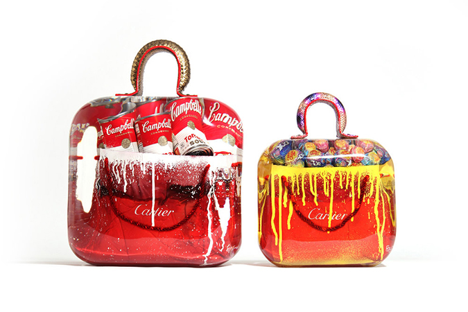 Classic Pop Art Fashion Bags by Fred Allard ➤  Design Gallerist - Discover the season's rare and unique design ideas. Visit us at www.designgallerist.com/blog/ #DesignGallerist #uniquedesignideas #contemporarydesign @designgallerist  pop art fashion bags Classic Pop Art Fashion Bags by Fred Allard 4
