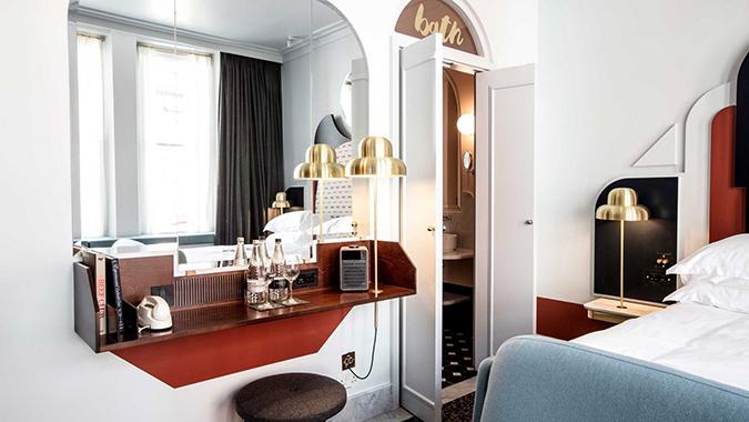 henrietta hotel in london New Mid Century Modern Henrietta Hotel in London Henrietta Hotel in London 6