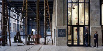 Luxury Industrial Interior Design at the Silo Hotel in Cape Town ➤ Design Gallerist - Discover the season's rare and unique design ideas. Visit us at www.designgallerist.com/blog/ #DesignGallerist #uniquedesignideas #contemporarydesign @designgallerist