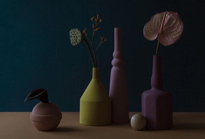 still life Le Morandine, still life objects brought to life by Sonia Pedrazzini K DI LEVA Le Morandine Colores