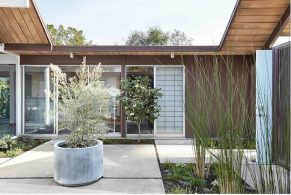 A Mid-Century Modern Home in California by Klopf Architecture klopf architecture A Mid-Century Modern Home in California by Klopf Architecture A Mid Century Modern Home in California by Klopf Architecture 2 291x195