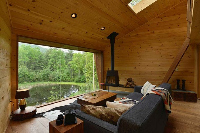 This Unique Treehouse in New York Is the Perfect Forest Getaway  Unique Treehouse in New York This Unique Treehouse in New York Is the Perfect Forest Getaway This Unique Treehouse in New York Is the Perfect Forest Getaway 3