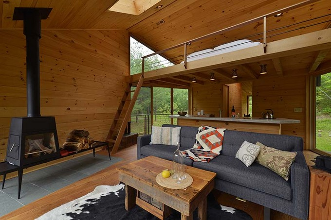 This Unique Treehouse in New York Is the Perfect Forest Getaway  Unique Treehouse in New York This Unique Treehouse in New York Is the Perfect Forest Getaway This Unique Treehouse in New York Is the Perfect Forest Getaway 7
